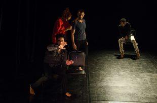 Folio en blanco, coreografía: Oscar Ruvalcaba Pérez, ORP Cía de Danza, Centro Cultural los Talleres, Fotografía:©Gloria Minauro/isoptica.com.mx