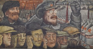 La Tercera Internacional , La Revolución Rusa , 1933, Diego Rivera