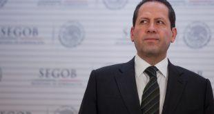 Miguel Angel Osorio Chong y Eruviel Avila ofrecen mensaje a los