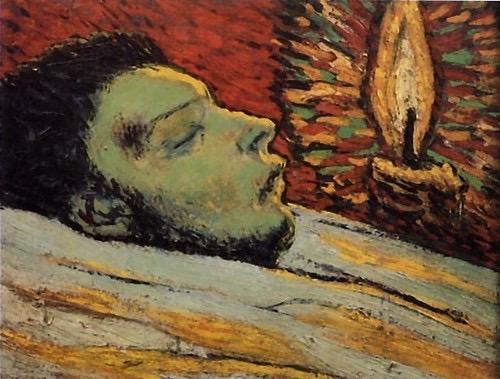 La muerte de Casagemas. Picasso