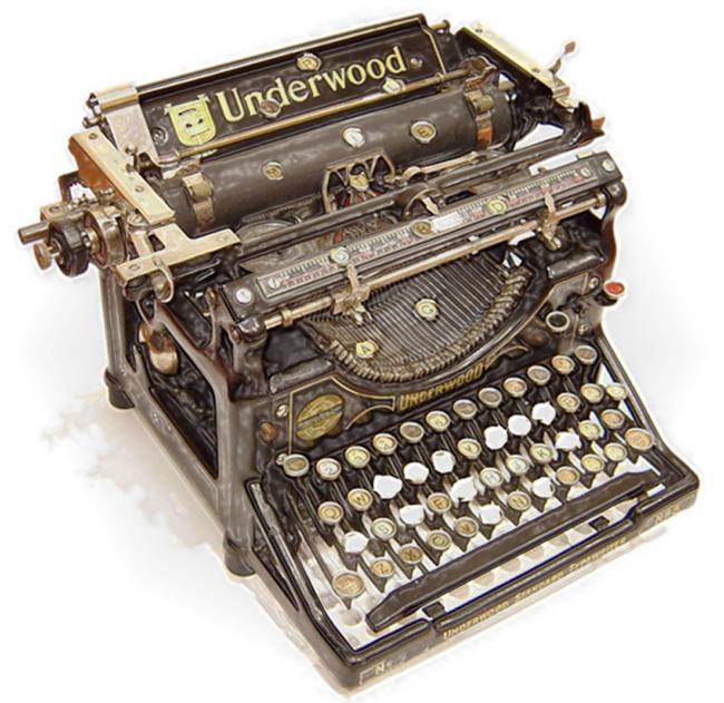 z Máquina de escribir